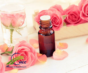Rose oil, maleki commercial co
